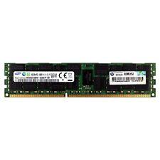 Hp 672612-081 16 Gb Módulo 2rx4 Ddr3 Pc3-12800r 1600 Mhz Ecc Reg Dimm Memoria Ram