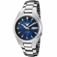 Seiko 5 Automatic Stainess Steel Blue Dial Men's Watch SNK615K1 RRP £149