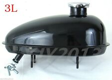 49cc ~ 80cc Engine Motorized Bicycle Fuel gas Tank With Cap Petocok 3L