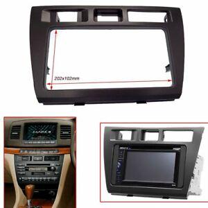 Car Radio Fascia for TOYOTA Mark II JZX110 Verossa Stereo Dash Kit Installation