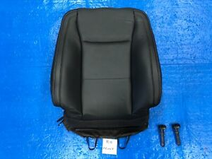 2015 2016 2017 FORD F150 LARIAT RIGHT FRONT SEAT COVER BACKREST BLACK LEATHER