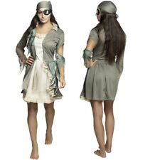 Damen Kostüm Geisterbraut Halloween Untote Kleid 242 ZOMBIE BRAUT 38//40 M