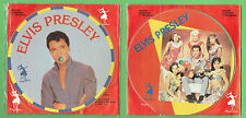 #T59. TWO ELVIS PRESLEY 1987  PICTURE DISC  RECORDS