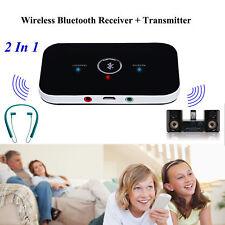 HIFI Wireles 2 in1 Bluetooth Empfänger Adapter Sender Transmitter Musik Audio DE