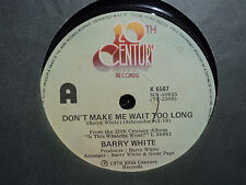 """Barry White """"Don't Make Me Wait Too Long"""" 1976 20TH CENTURY NZ 7"""" 45rpm"""