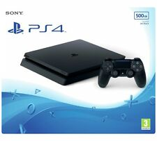 Sony PS4 Slim Nero 500GB-PlayStation 4 Console