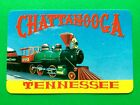 Chattanooga Tennessee Train Engine & Cars Single Swap Playing Card