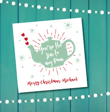 Christmas card - The Office - Jim to my Pam - personalised - boyfriend husband
