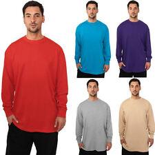 Urban Classics Langarm T-Shirt Herren Longsleeve T Shirt M L 2XL 3XL 4XL 5XL 6XL