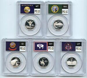 2007 S Silver State Quarter Set PCGS PR69DCAM