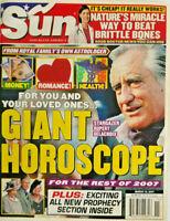 Sun Tabloid Magazine March 2007 - Giant Horoscope - Stargazer Rupert Delacroix