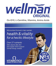 Vitabiotics Wellman Original 30 Tablets Multi Vitamin Minerals A B C D Iron Zinc