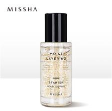 [Missha] Moist Layering Starter Gold Topping 30ml, Whitening / Korea-Beauty