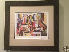 "Picasso's Nicely Framed Lithograph ""Sculptor's Studio Limited Edition #12 OF 500"
