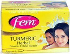 360g - Pack Fem TURMERIC HERBAL CREME BLEACH With Milk AMMONIA FREE USA SELLER