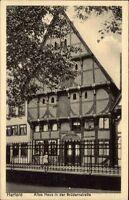 Herford in Westfalen Postkarte ~1910/20 Altes Haus in der Brüdergasse ungelaufen