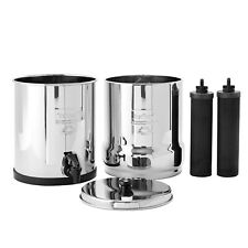 Big Berkey Water Filter w/ 2 Black Berkey Purifiers - NEW