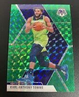 KARL ANTHONY TOWNS KAT Mosaic Green Prizm # 83 Minnesota Timberwolves
