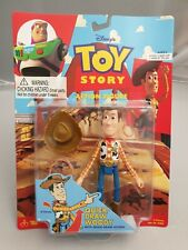 Vintage Disney's Toy Story Action-Figur - Quick-Draw Woody Moc Ovp Thinkway Toys