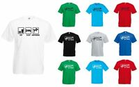 Eat Sleep Bodyboard, Mens Printed T-Shirt