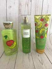 3 Bath & Body Works Cherry Limeade Items Shower Gel, Body Cream, Fragrance Mist