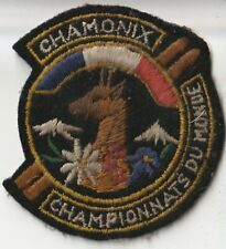Ecusson tissu - Chamonix