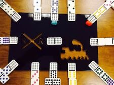 Mexican Train Dominoes Game Board Steel
