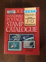 Scott 2001 Standard Postage Stamp Catalogue Volume 4 Countries of World J-O
