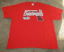 St. Louis Cardinals 2013 World Series Champions T Shirt Baseball Mens Size 2XL