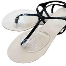New listing Silicone Gel Post Cushions Comfy Sandal Toe Protectors Pad Flip Flop 2Pairs #Fac