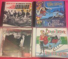 Brian Setzer 12 CD Lot Rockabilly Stray Cats