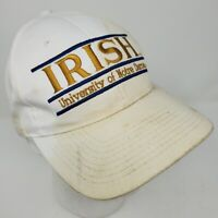 Vintage University of Notre Dame Fighting Irish The Game Snapback Hat 90s
