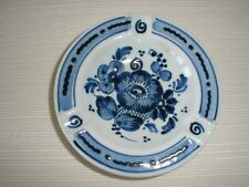 Miniature DELFT BLUE Handpainted Royal Ashtray #2859 Made in Holland
