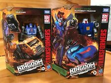 Lot (2) Huffer and Tracks generations war for cybertron kingdom transformers-NEW