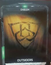 Gears Of War 4 Gear Pack Emblem Code Card Outsiders Fast Shipping!