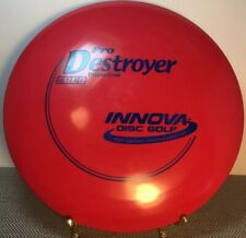 Innova New Pro Destroyer 175g Red W/ Blue Stamp Distance Driver Golf Disc