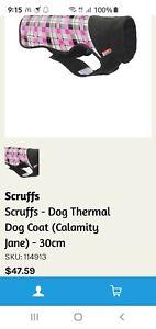 SCRUFFS Thermal Dog Coat 30 Cm Pink