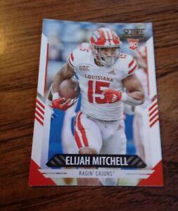 2021 Score Elijah Mitchell Rc NM San Francisco 49ers Louisiana Ragin' Cajuns