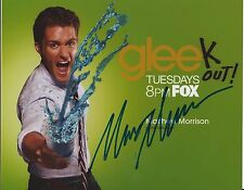 Matthew Morrison Glee Will Schuester Actor Signed 8x10 Autographed Photo W/COA