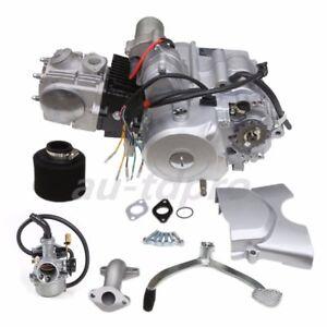 125CC Semi Engine Motor auto 3 SPEED with REVERSE ATV QUAD GO Kart four WHEELER