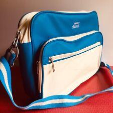 Slazenger Shoulder / Messenger Bag retro looking mod tennis