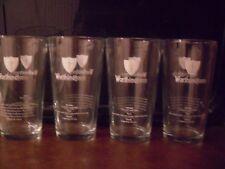 4 X WORTHINGTON BITTER PINT GLASSES CE STAMPED. Pub Shed Bar Mancave Home Bar