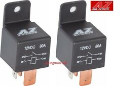 Air Zenith 80amp Relay 2 pk for 12V OB2 Compressors, Suspension, Train Horn Kits