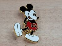 Vintage Disney Mickey Mouse Golden Lining and Back Pin / Lapel