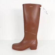 AIGLE Gummistiefel Waterproof Siefelette Boots Mokka Gr.36 Damen Stiefel Shoes L