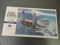 HASEGAWA, F-15C EAGLE US AIR FORCE, 1/72 Scale, Plastic Tank Kit, Item 00543