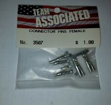 VINTAGE TEAM ASSOCIATED FEMALE CONNECTOR PINS PERIOD CORRECT BUILD 3507