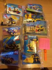 Lego City Lot Vintage 625+6470+6512+6603+6630+6645+6640+6667+7242+7246
