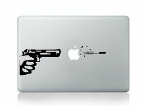 MacBook 13 inch Decal Stickers Gun Art for Apple Laptop