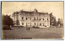 W. England, Suisse, Château Rotschild à Pregny près de Genève  Vintage albumen p